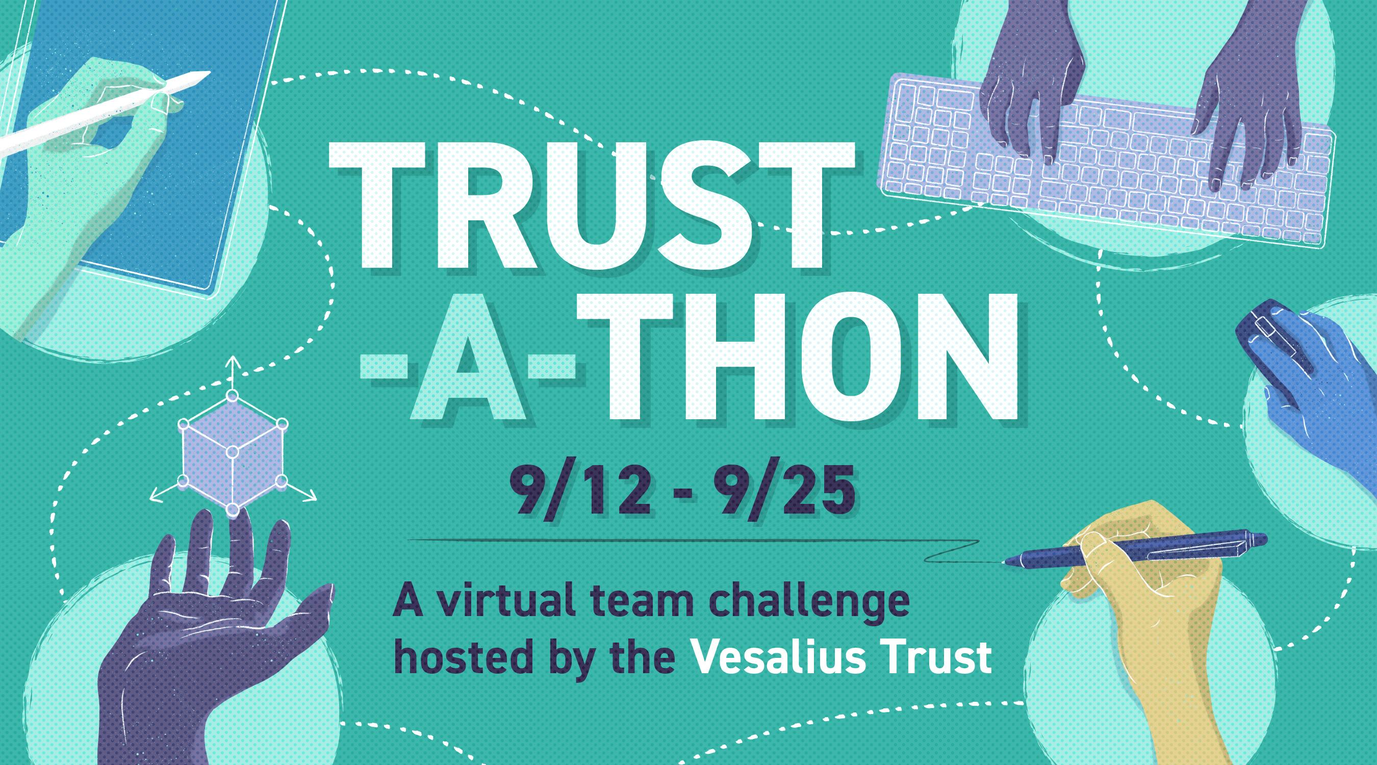Trust-a-thon 2021 banner
