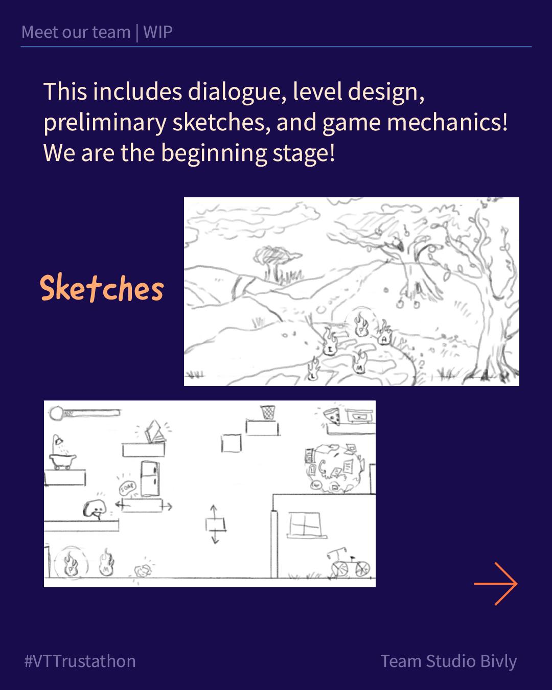 Studio Bivly - progress sketches