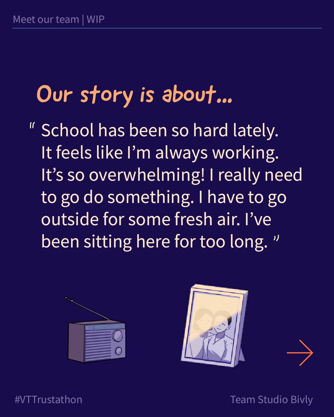 Studio Bivly - progress story