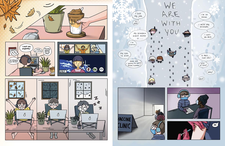 Team We Belung 2Gether - comic spread 2