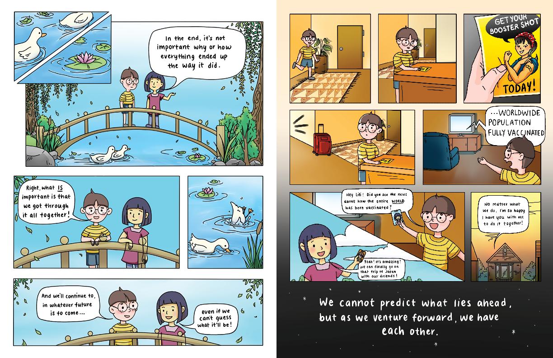Team We Belung 2Gether - comic spread 4