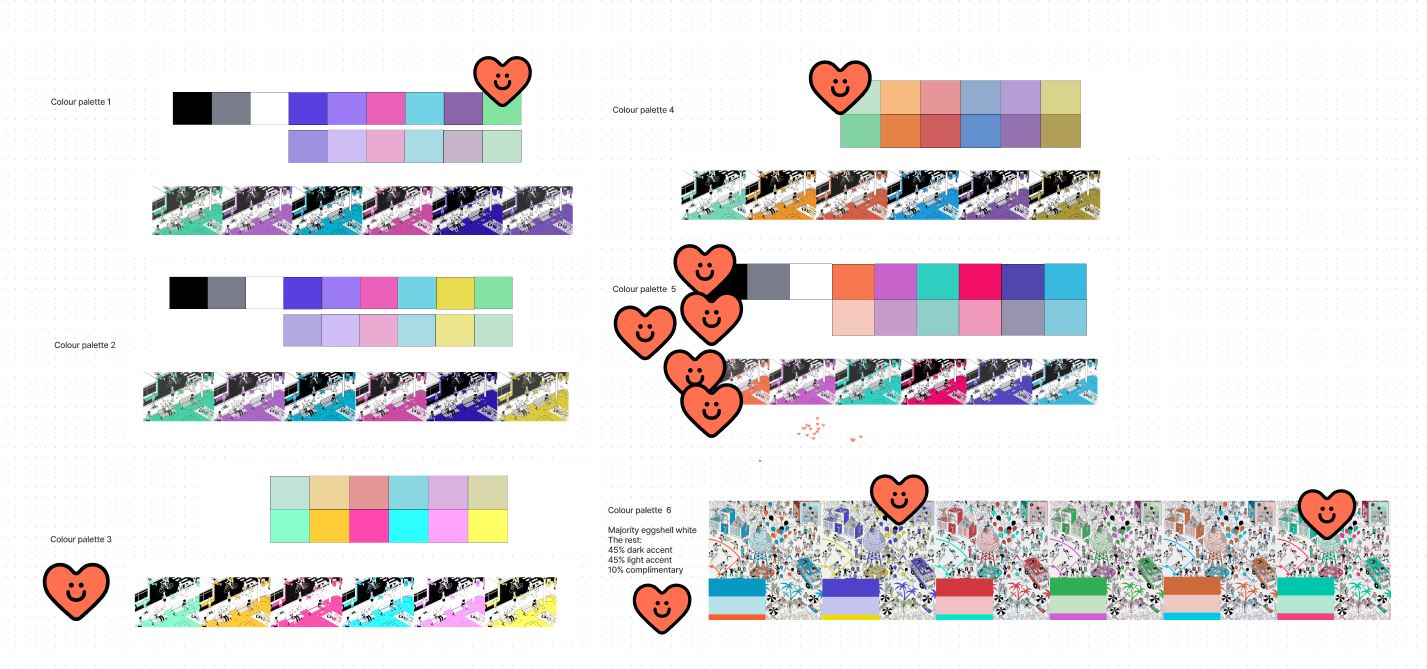 Team finalfinaldraftv3ai - colours