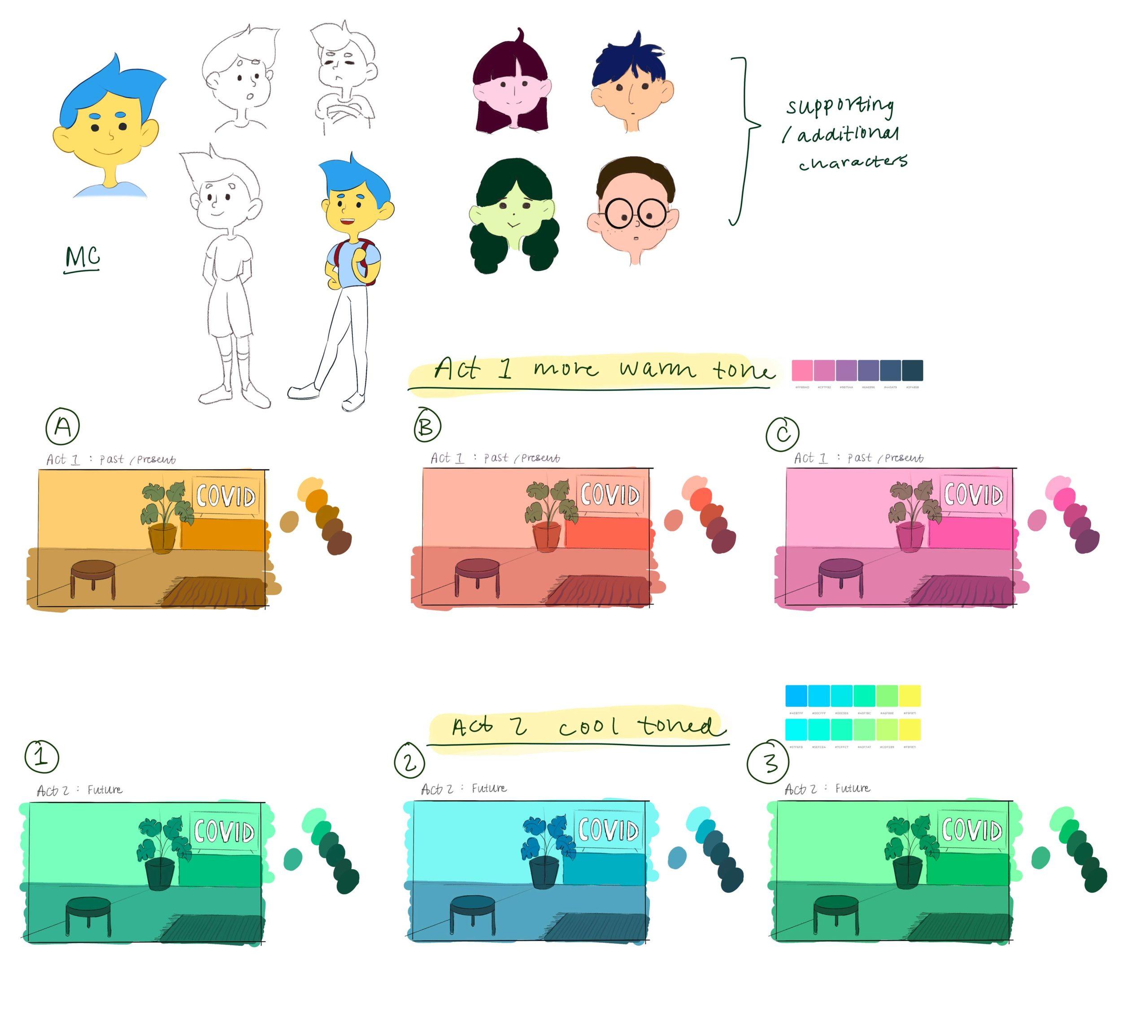 Team We Belung 2Gether - concept art
