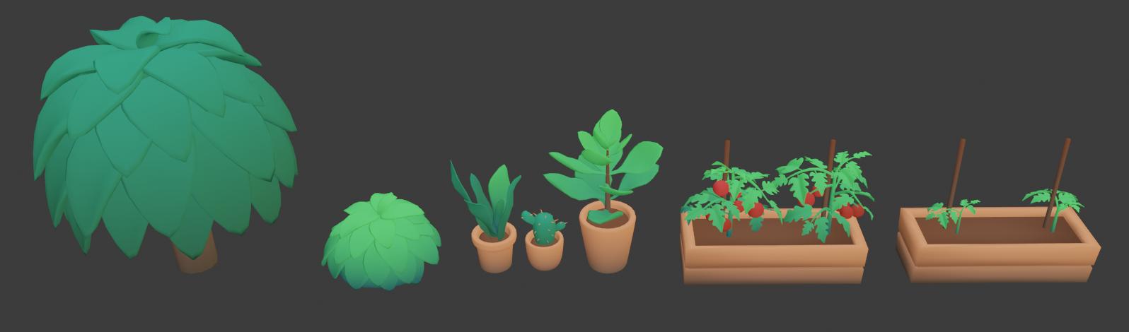 Team KICK AXS - 3D plants