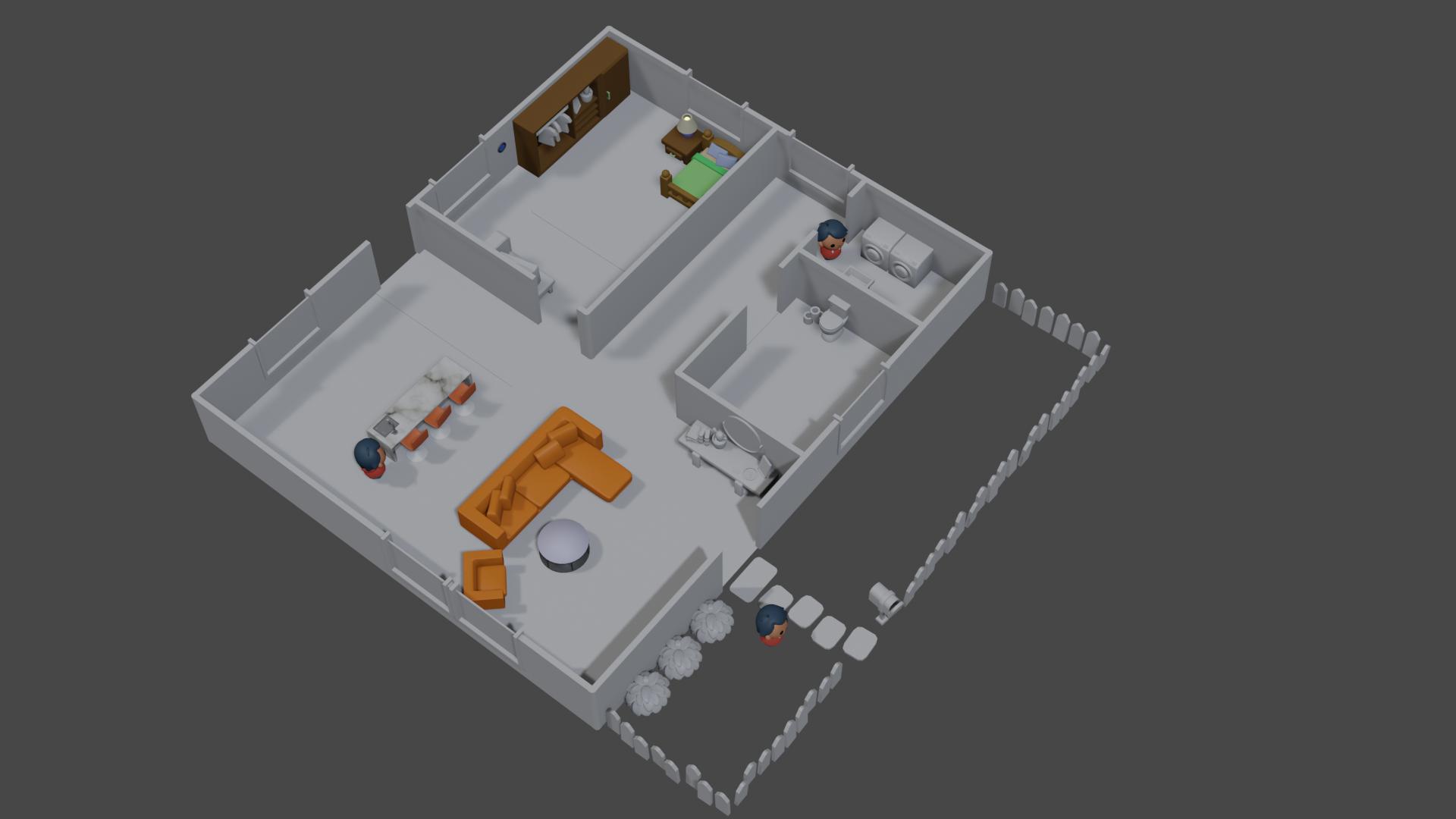 Team KICK AXS - 3D house